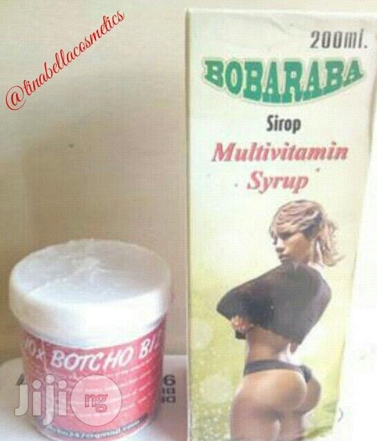 Botcho Cream Plus Bobaraba Syrup (Butt And Hip Enlargement)