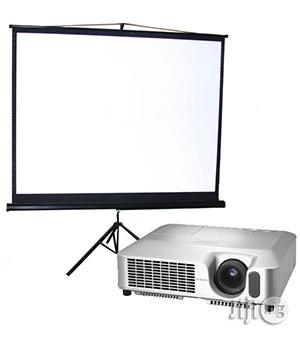Rent Projector And Projector Screen In Lagos | Party, Catering & Event Services for sale in Lagos State, Ikeja