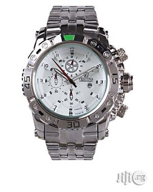 Men's Silver Wrist Watch   Watches for sale in Lagos State