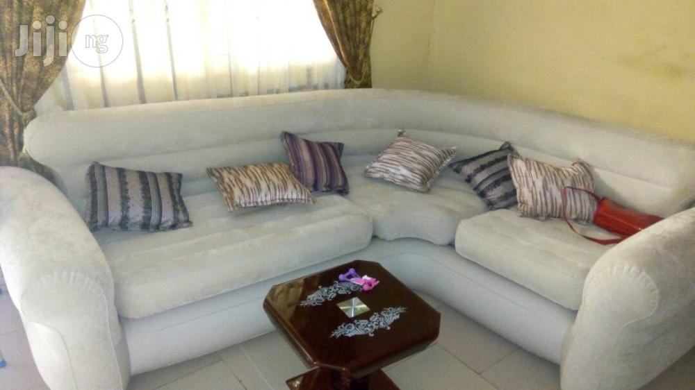 Double Corner Living Room Intex Air Chair | Furniture for sale in Port-Harcourt, Rivers State, Nigeria