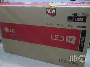 LG LED 49 Inches With HDMI and USB and Av With 2 Years War | TV & DVD Equipment for sale in Lagos State, Ojo
