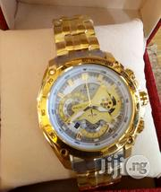 Gold Edifice Casio Watch | Watches for sale in Lagos State, Surulere