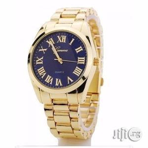 Full Steel Unisex Quartz Rhinestone Watch   Watches for sale in Lagos State, Ikeja