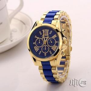 Steel Unisex Analog Quartz Rhinestone Watch   Watches for sale in Lagos State, Ikeja