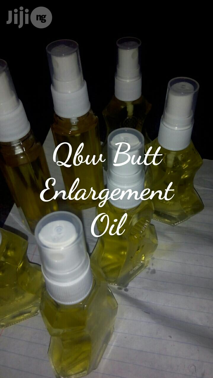 Qbw Butt Enlargement Natural Oil With Powder