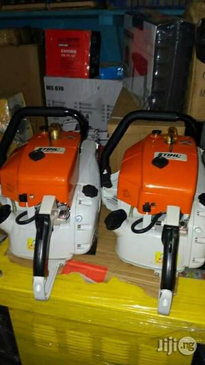 Steel Chain Saw Machine For Wood | Electrical Hand Tools for sale in Lagos State, Ojo