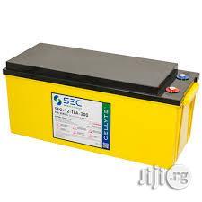 SEC 250ah/12v Rugged Gel Inverter Battery | Electrical Equipment for sale in Lagos State