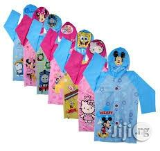 Children Character Rain Coat