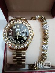 Gold Rolex With Bangle   Jewelry for sale in Lagos State, Lagos Island