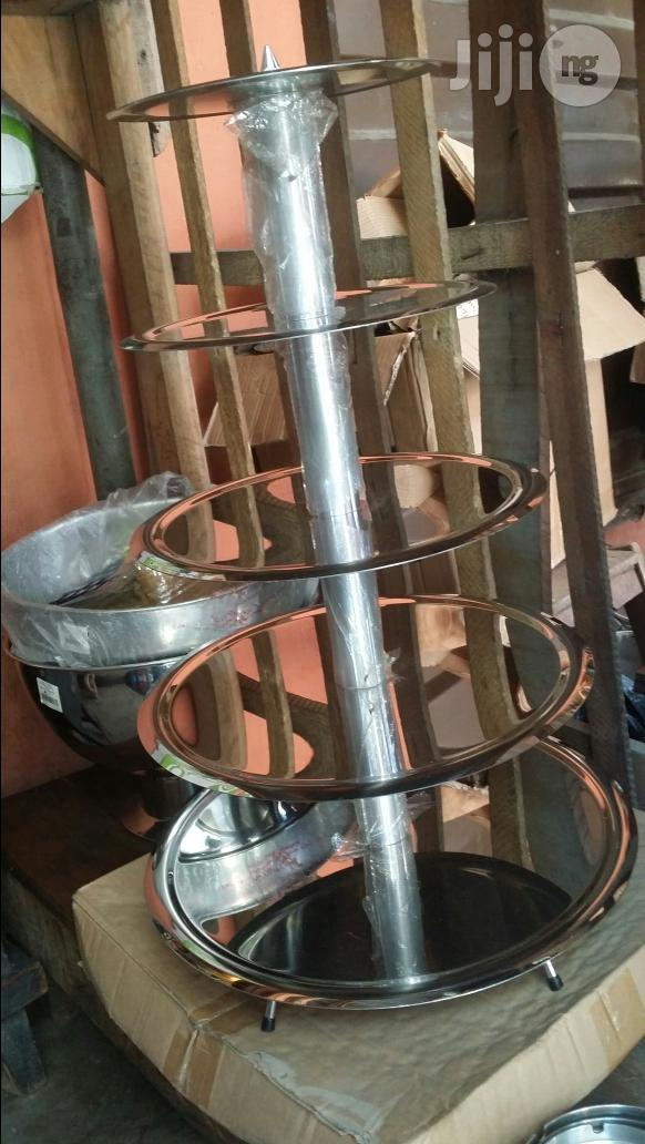 Stainless Still Cake Stand (ENG)
