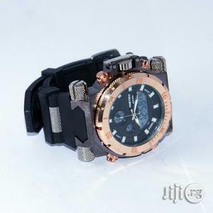 Bistec Analog/Digital Rubber Watch | Watches for sale in Lagos State, Lagos Island (Eko)