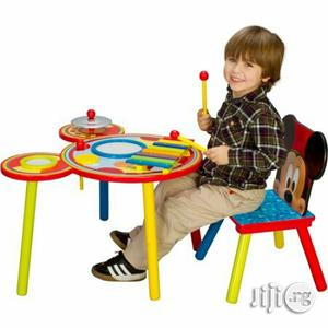 Mickey Mouse Musical Table And Chair Set   Children's Furniture for sale in Lagos State, Ikeja