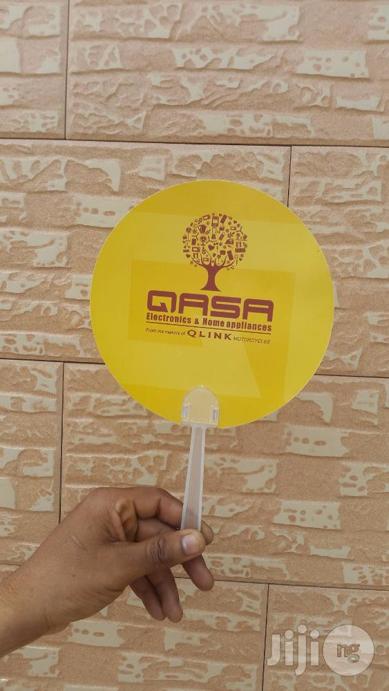 Branded Plastic Hand Fans To Advertise Your Biz