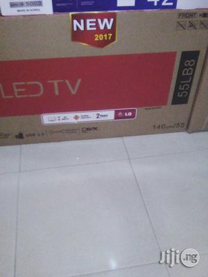 LG 55 Inch LED TV | TV & DVD Equipment for sale in Lagos State, Ojo