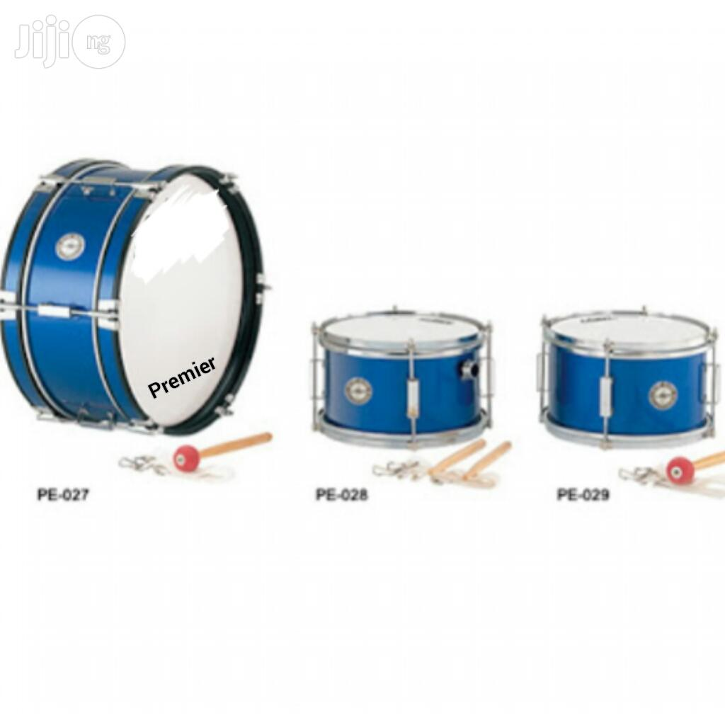 Premier Professional Matching Drum With Accessories - 3 Set