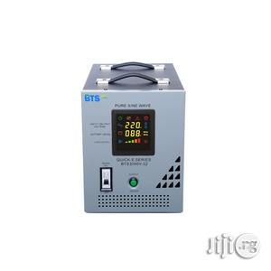 Quick E 1.0 Kva - 12V Pure Sine Wave Inverter With In-built AVR   Electrical Equipment for sale in Lagos State, Surulere