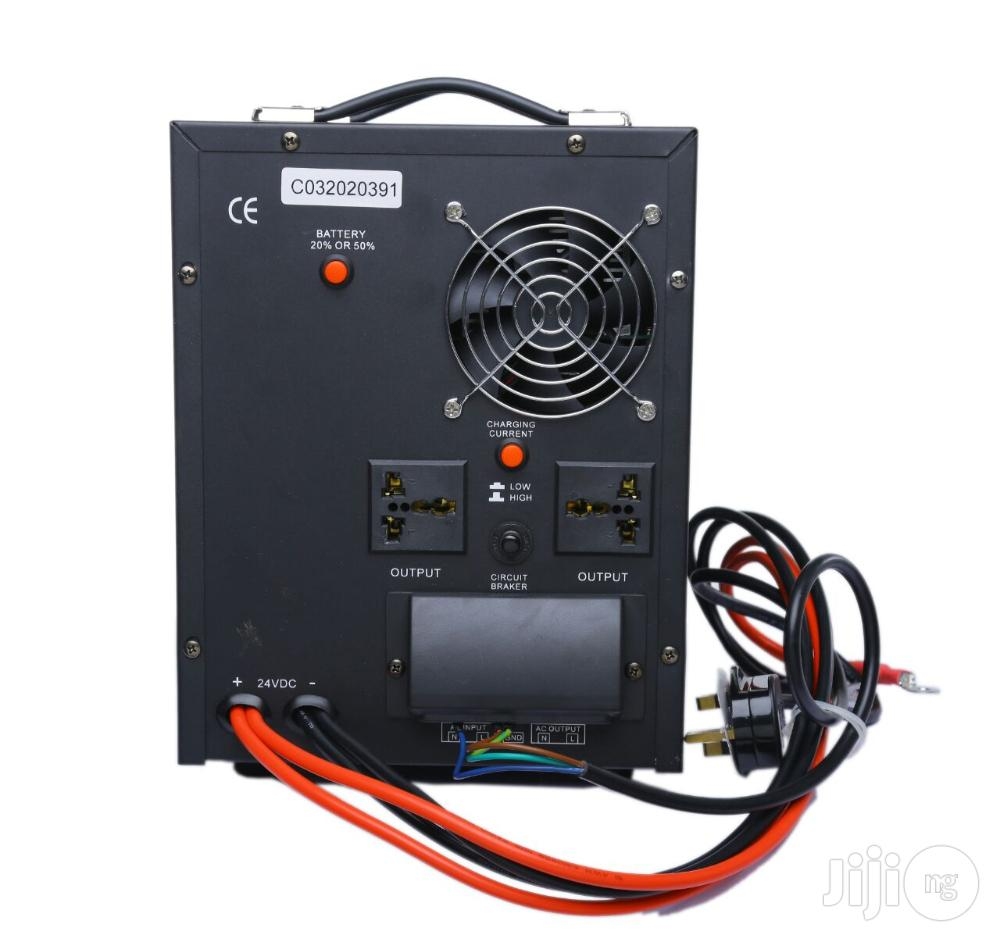 Quick E 1.0 Kva - 12V Pure Sine Wave Inverter With In-built AVR   Electrical Equipment for sale in Surulere, Lagos State, Nigeria