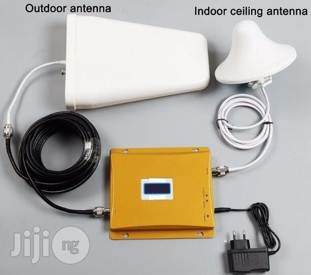 Home/Office GSM Signal Repeater System With Outdoor Antenna