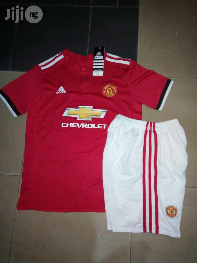 Authentic Manchester United Kid 2017/18 Official Jersey