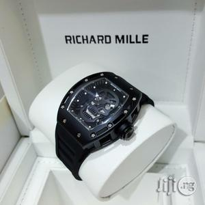 Richard Mille Skullcap Black Wristwatch   Watches for sale in Lagos State, Oshodi
