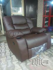 Complete Set Of High Quality Reclining Leather Sofa Chair By 7seathers | Furniture for sale in Lagos State, Ojo
