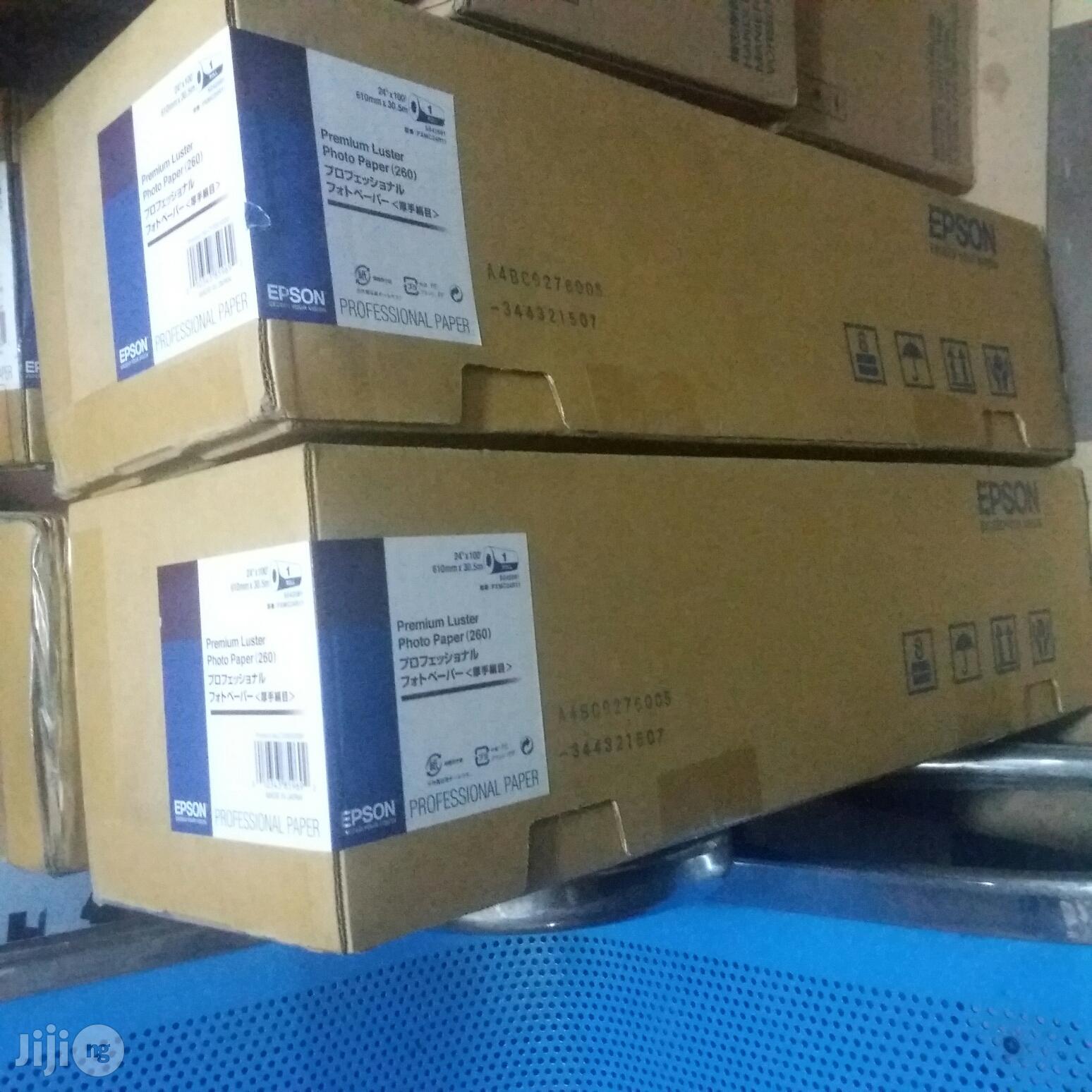 EPSON 24inches Premium Luster Photo Paper