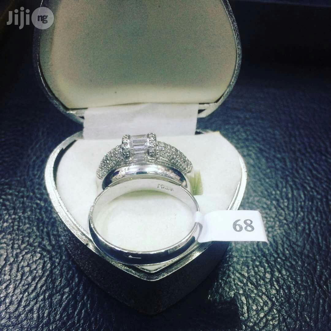 Romania Silver Engagement Ring
