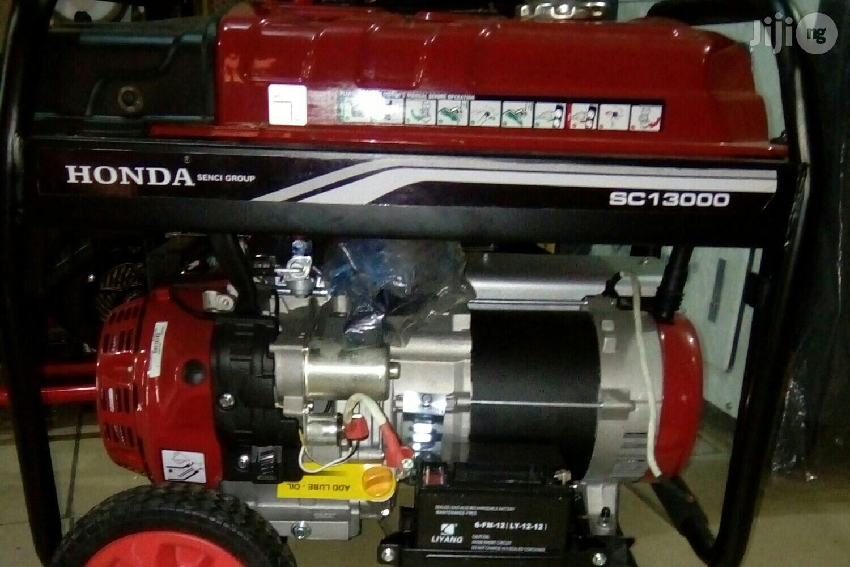 9.5 Kva Honda Petrol Generator Set. (Semi Silent)
