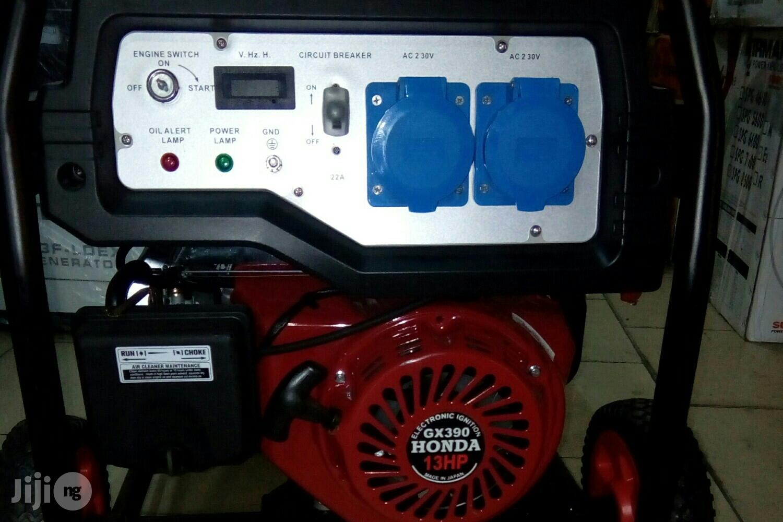 9.5 Kva Honda Petrol Generator Set. (Semi Silent)   Electrical Equipment for sale in Port-Harcourt, Rivers State, Nigeria