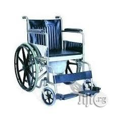 Commode Wheelchair | Medical Supplies & Equipment for sale in Lagos State, Mushin