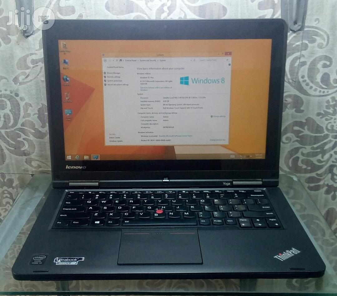 UK Used Lenovo Thinkpad Ultrabook Yoga - 13.3 Inches 500GB HDD Core i5 4GB RAM