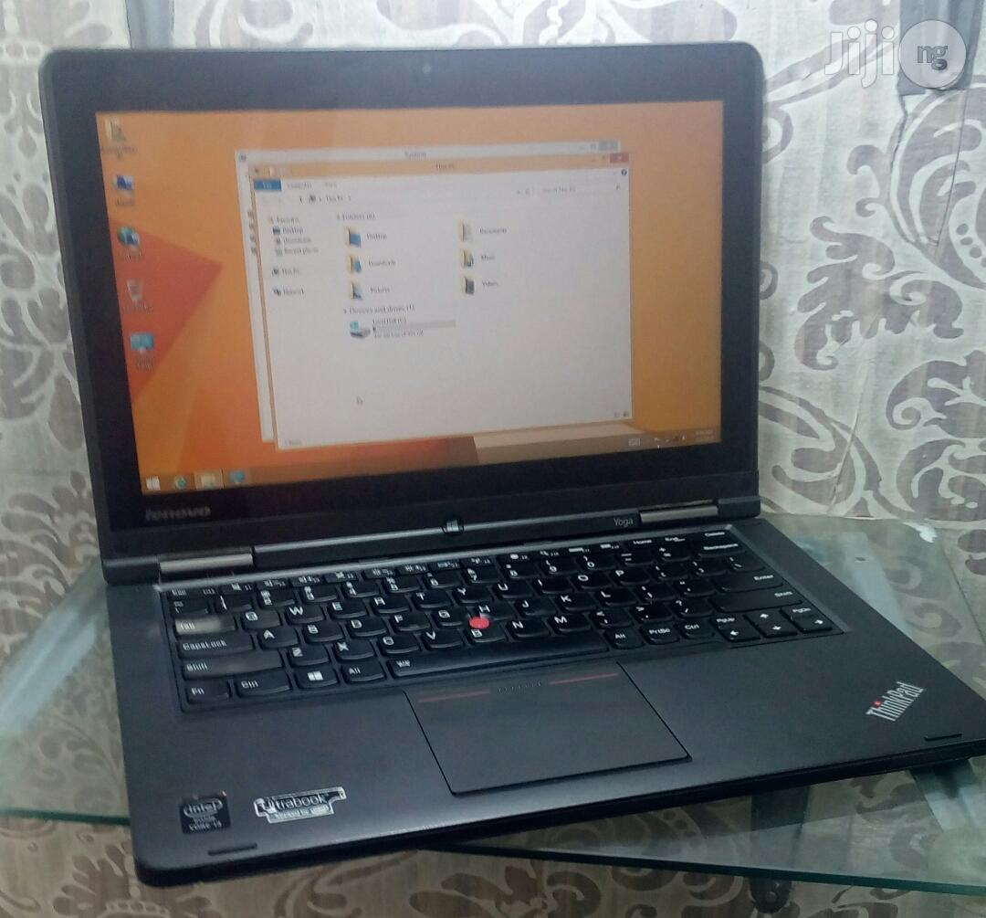 UK Used Lenovo Thinkpad Ultrabook Yoga - 13.3 Inches 500GB HDD Core i5 4GB RAM   Laptops & Computers for sale in Ikeja, Lagos State, Nigeria