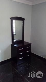 Bed With Two Sides Cabinets And Mirror Table With Drawers | Furniture for sale in Lagos State