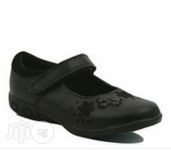 Frozen Light Up Black Shoes