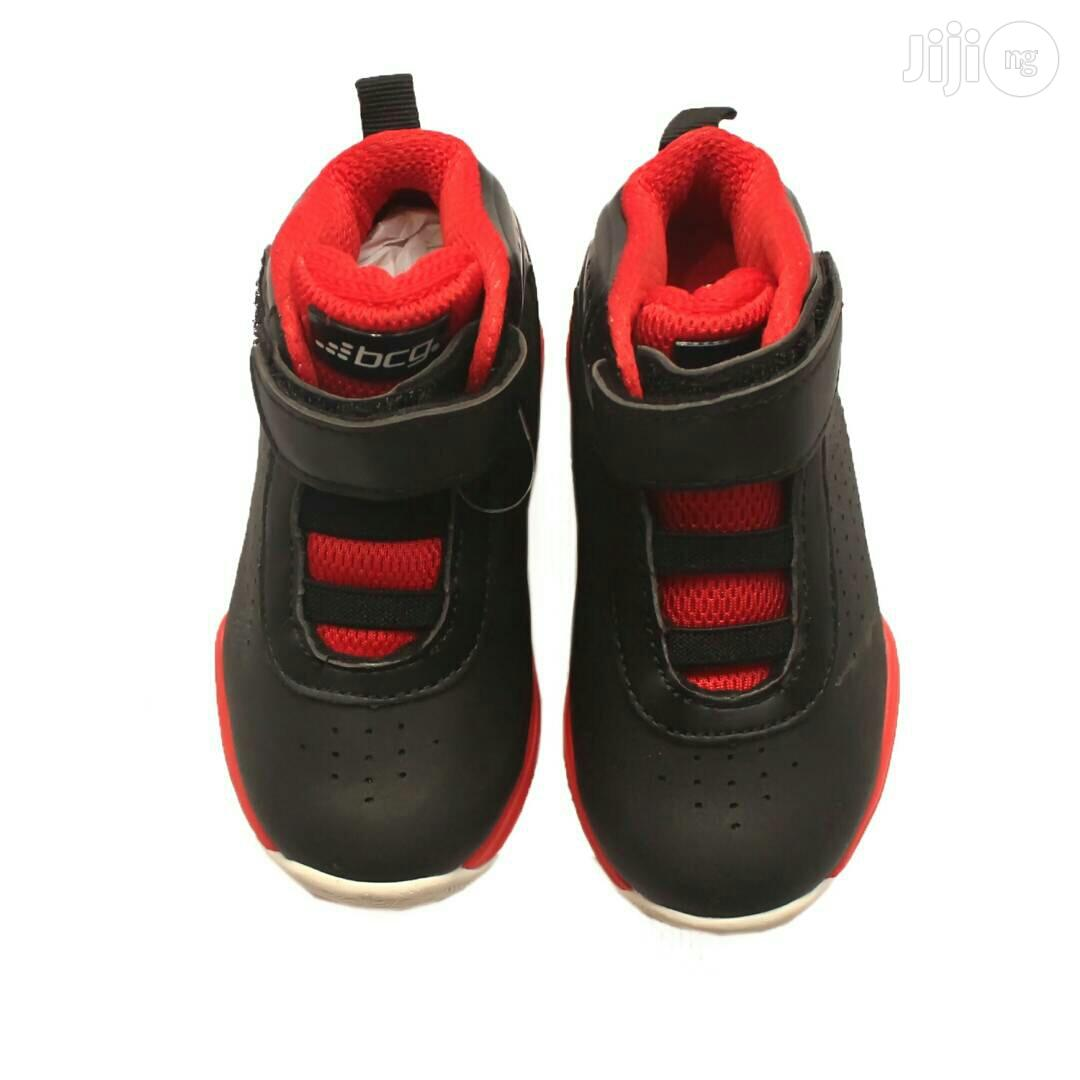 Red Sole and Black Canvas for Toddler | Children's Shoes for sale in Lagos Island (Eko), Lagos State, Nigeria