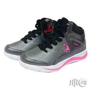 Ash Canvas With Pink and White Sole for Girls   Children's Shoes for sale in Lagos State, Lagos Island (Eko)