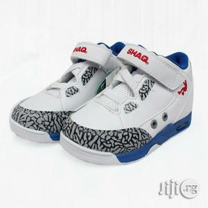 White With Blue Sole Canvas | Children's Shoes for sale in Lagos State, Lagos Island (Eko)