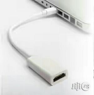 Cable Adapter for Thunderbolt Mini Displayport to HDMI Apple Macbookpr   Accessories & Supplies for Electronics for sale in Lagos State, Ikeja