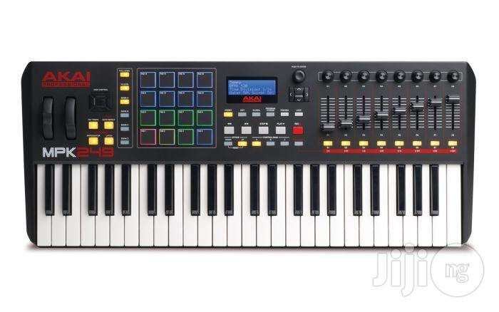 Akai MPK249 MIDI Keyboard Controller With Drum Pads | Musical Instruments & Gear for sale in Surulere, Lagos State, Nigeria