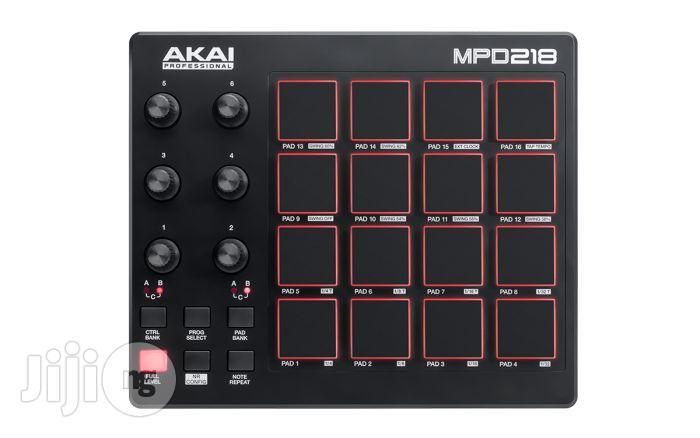 Akai MPD 218 MIDI Pad Controller Drumpad / Drum Pad | Audio & Music Equipment for sale in Surulere, Lagos State, Nigeria