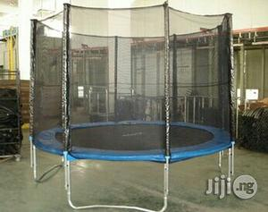 Brand New 8ft Trampoline With Enclosure And Ladder   Sports Equipment for sale in Rivers State, Port-Harcourt
