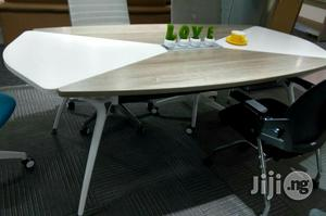 6 Seater Grey and White Conference Table | Furniture for sale in Lagos State, Lekki