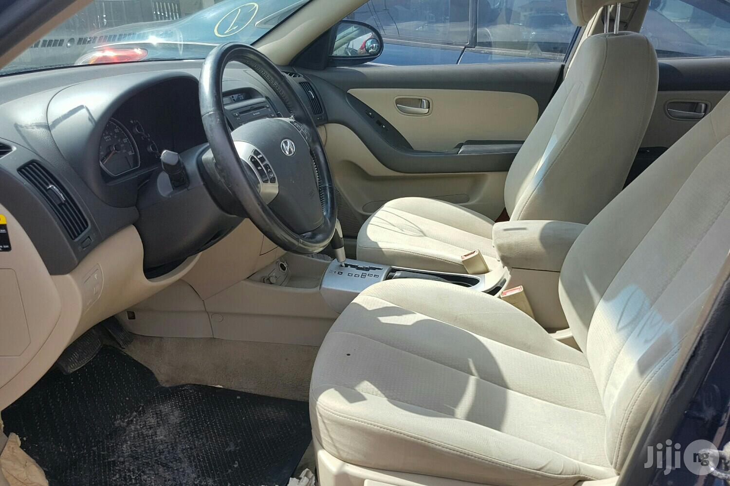 Super Clean Foreign Used Hyundai Elantra 2008 Blue   Cars for sale in Surulere, Lagos State, Nigeria