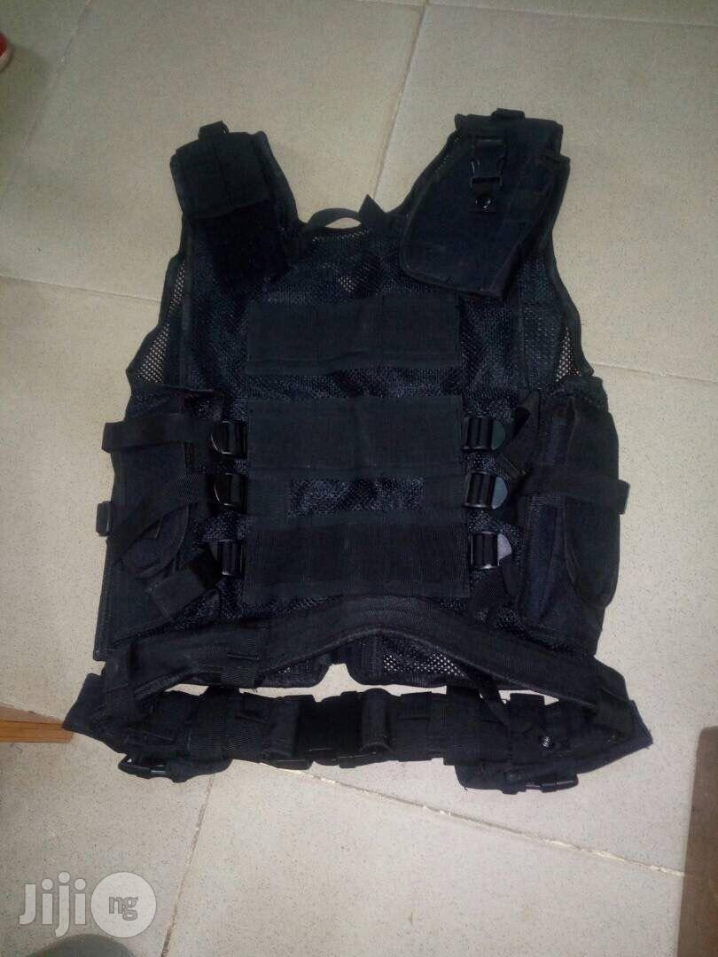 Frag Jack Vest/Full Option Gadgets Carrier | Safety Equipment for sale in Yaba, Lagos State, Nigeria