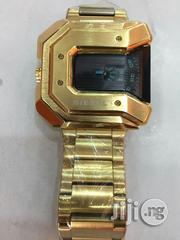 Diesel Gold Watch | Watches for sale in Lagos State, Surulere