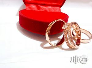 Brand New Romania Rose Gold Engagement Wedding Ring 211 In All Sizes | Wedding Wear & Accessories for sale in Lagos State, Ikeja