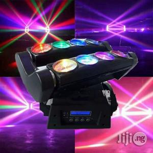 Eight Eyes Moving Head For Club Or Stage Light | Stage Lighting & Effects for sale in Lagos State, Ikeja